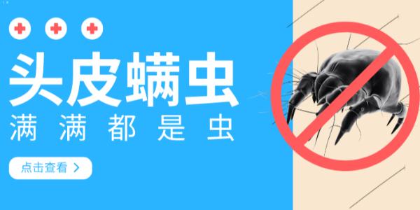 【广州采乐】洗护厂家告诉你头上的螨虫怎么清理!